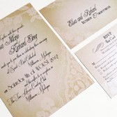 Ivory Lace invitations