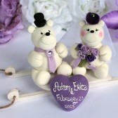 polar bear cake topper, winter wedding, winter wonderland, custom cake topper, cute cake topper, bear cake topper
