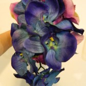 Blue and Purple Orchid Bouquet