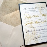 Victorian Scrolls Wedding Invitations