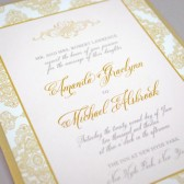 Romantic Flourish Wedding Invitations