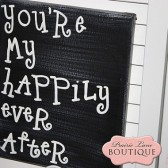 You're My Happily Ever After Canvas
