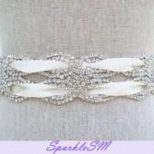 Yardley Bridal Sash