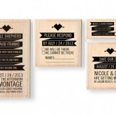 Invitation Stamp Set