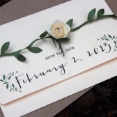Photo Save the Date - Rustic Country Chic, Garden Theme