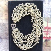 Chunky Pearl Wedding Necklace