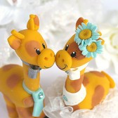 Giraffe cake topper, wedding cake topper, custom cake topper, Etsy