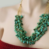 Turquoise Wedding Necklace