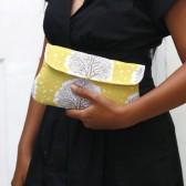 Majestic Oak Clutch