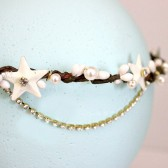 Rustic Stars, Berries and Pearls Halo