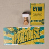 Key West Paradise Destination Wedding Invitation Set