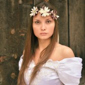 Kanzashi Bridal headband