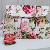 Shabby Chic Rose Clutch