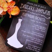 Chalkboard Bridal Shower