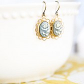 Cup of Mint Tea Earrings