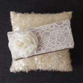 Georgia lace clutch