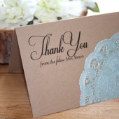 Thank You Card Set // Weddings, Bridal Showers, Everyday