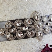 ART DECO Bridal sash