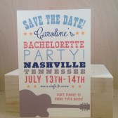 Yee Haw / Southern Country / Bachelorette Party / Weekend / Nashville / Save the Date