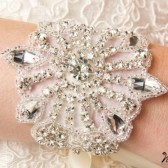 Beaded Crystal Bridal Bracelet