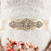 Bridesmaid sash, wedding sash