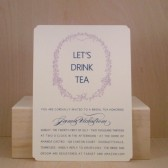 Pretty British Tea / Bridal / Wedding / Baby / Vintage / Shower / Brunch / Birthday / Printed Party Invitation