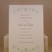 Bridal / Wedding / Tea / Birthday / Shower / Party Inivtation / Couple Shower / Clover / Sweet Spring / Flowers / Custom