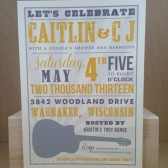 Nashville Hatch Country / Southern Save the Date / Wedding / Rehearsal Dinner with Guitar /