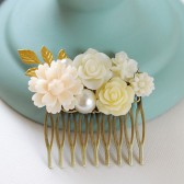 Ivory Bridal Wedding Hair Comb