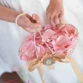 Chicken Wire Flower Girl Basket