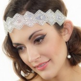 Art Deco Bridal Headband
