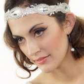 Beaded Crystal Bridal Headband