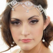 Gatsby Art Deco Bridal Headband