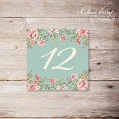 Romantic Vintage Table Numbers