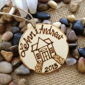 Personalized New Home Ornament Perfect for Your First Christmas in Your New Home