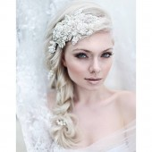 My Enchanting Miriam bridal hairpiece
