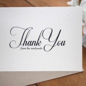 Wedding Thank You Card Set