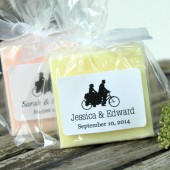 Tandem Bicycle Soap Favors