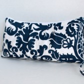 Amsterdam Damask In Navy  Catalina Clutch
