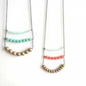 Colorful Layered Beaded Necklace
