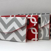 Bold Modern Red and Grey Collection