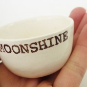 MOONSHINE SHOT GLASS for a southern wedding groomsmen's gift for him, southern gentleman gift for best man