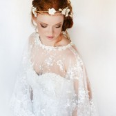 Oh so Pretty bridal lace cape