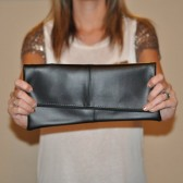 chic wedding clutch