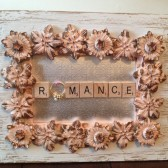 Romantic Flor Shabby Chic Ring Holder