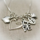 Love and Hearts Necklace