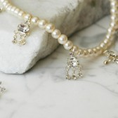 Grace - Vintage Inspired Evening or Bridal Necklace & Earring Set