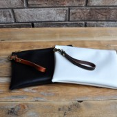 Black or White Wristlet