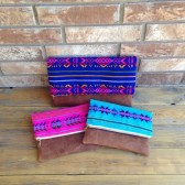 boho wedding clutch