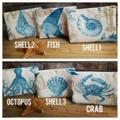 beach wedding clutches